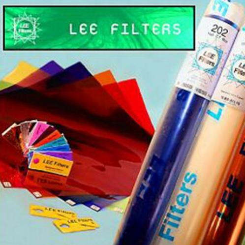 LEE FILTER FOGLIO 819 ZIRCON COOL BLUE 8